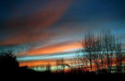 Un ciel en feu
