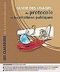 """Nouvelle mise à jour de mon """"Guide des Usages, du Protocole et des Relations Publiques"""""""
