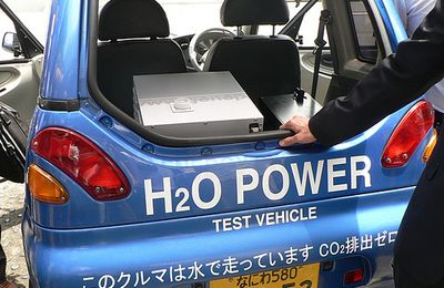 Alternative Clean Energy: Japanese Water Powered Car (+ video)