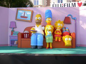 Les Simpson sur la croisette !