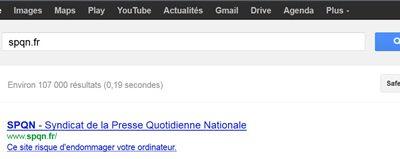 Comment savoir si mon site est jugé sûr par Google ?