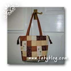 Petit sac en patchwork (Little patchwork bag)
