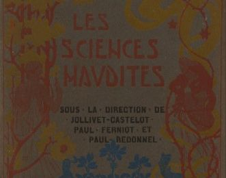 "C.R. des ""Sciences maudites"" (éd. La Maison d'Art)"
