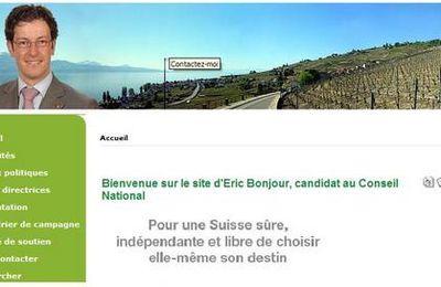 Sites personnels de nos candidats au conseil national