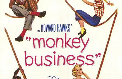 Monkey business, de Howard Hawks (USA, 1952)