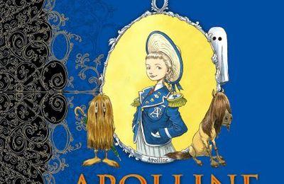 """""""Apolline et le fantôme de l'école"""" Chris Riddell"""