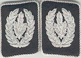Les grades allemands (Waffen SS)