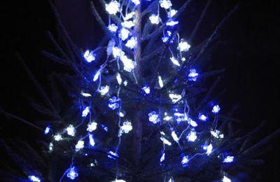 Maison illuminée dehors..... bientôt Noël !!!