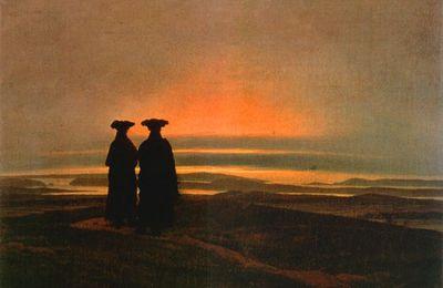 L'interprétation symbolique et le doute (Caspar David Friedrich : coucher de soleil)