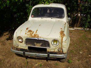 4L DE 1963, 1er modèle à sauver!
