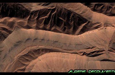 Image Satellite dans la région de Béchar Algérie