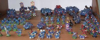 Le point sur mes Ultramarines