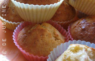 Muffins Noix de Coco - Coeur Nutella