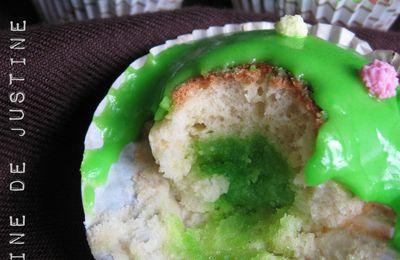 Muffins Citron au Coeur Amande - Fleur d'Oranger