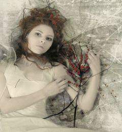La danseuse d'espoir tient à ses étoiles....