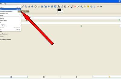 1.1/ Ouvrir une image dans GIMP