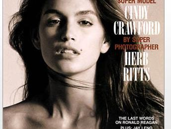 Cindy Crawford en couverture de Playboy