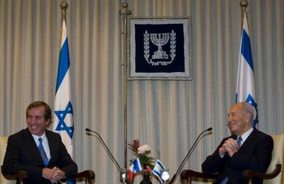 Shimon Peres and French Ambassador about Gilad Shalit and Iran