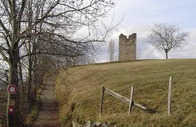 France - Tower of MONTFALLET - Laval