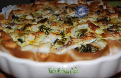Tarte Poireau - Colin - Curry