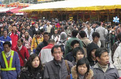 Marché aux fleurs chinois -2009 (8)