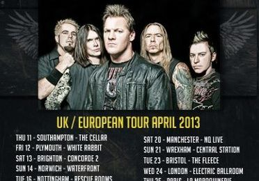 FOZZY back in UK/EUROPE april 2013