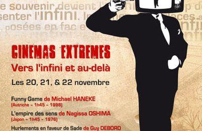 CINEMAS EXTREMES : L'affiche
