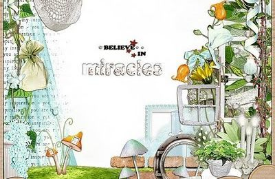 "Kit ""Believe in miracle"" de Manuedesigns"