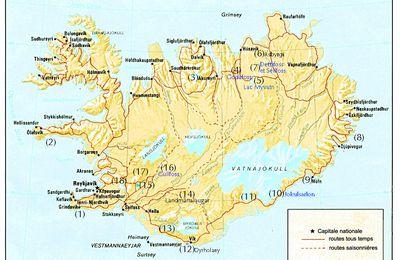 Autour de l'Islande