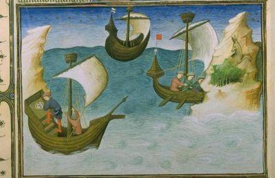 La pêche en mer au Moyen âge.