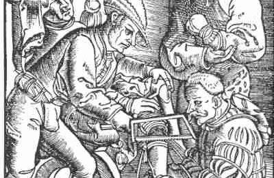 L'amputation au Moyen âge.
