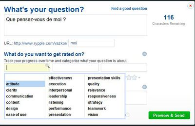 Rypple : un outil de sondage managérial simple et gratuit