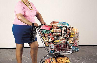 Le XXe siècle en images : Duane Hanson, Supermarket Lady (1969)