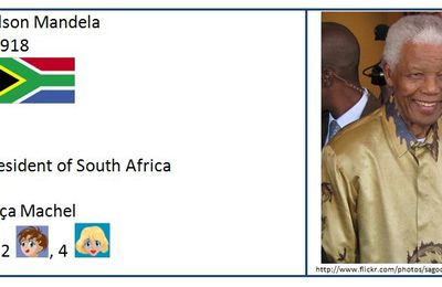 Interaction : Nelson Mandela