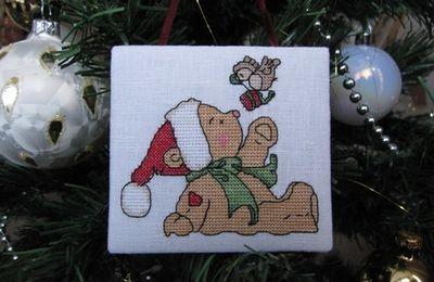 Petit ourson de Noël