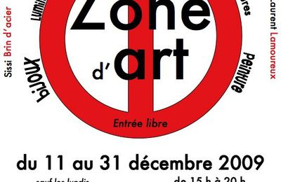 EXPOSITION ZONE D'ART N° 2
