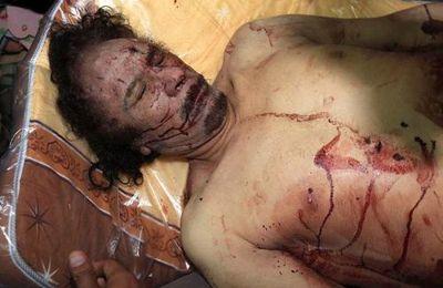 Kadhafi ou l'insupportable vérité des images