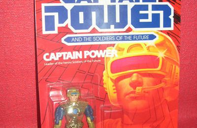 CAPTAIN POWER , figurines sous blisters - MATTEL (1987)
