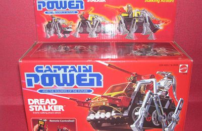 CAPTAIN POWER , véhicules - MATTEL (1987)