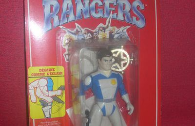 GALAXY RANGERS , figurines sous blisters - IDEAL