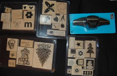 Nos cadeaux stampin'up