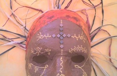masque d'inspiration africaine