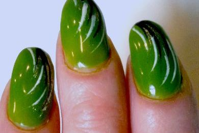 Ongles verts