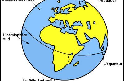 La Terre : le vocabulaire à connaître