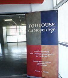 """Espace culturel : exposition """"Toulouse au Moyen Age"""""""