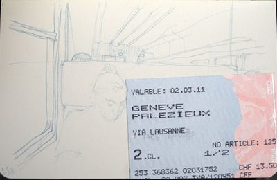 depuis le train / from the train #15
