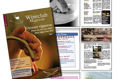 Wineclub Magazine n°1 - avril 2008