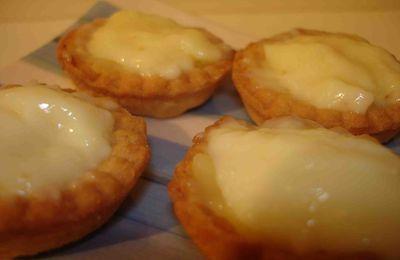 Tartelettes au lemon curd