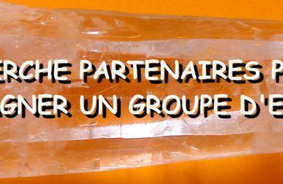 Recherche partenaires pour accompagner un groupe d'enfants