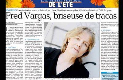 "Fred Vargas dans ""la Provence"""